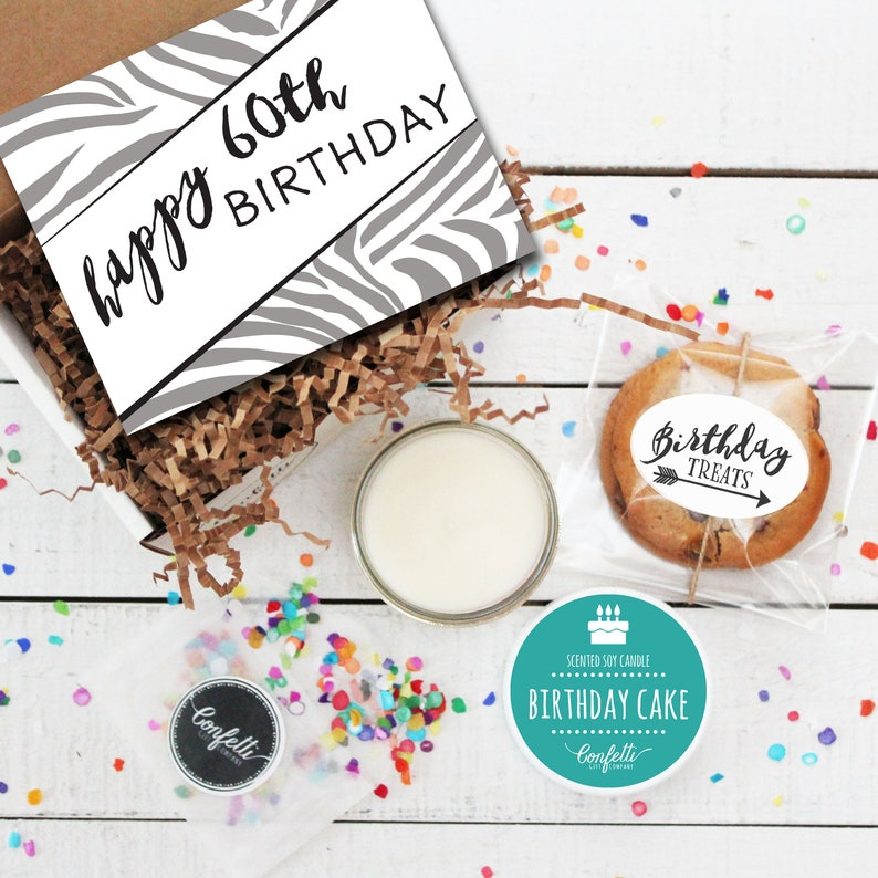 Mini Happy 60th Birthday Gift Box Milestone Send