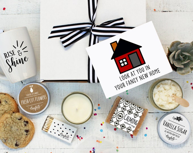 New Home Gift Box - The Works | Housewarming Gift | Moving Gift | Friend Gift | Welcome Gift | New Neighbor Gift | New House Gift