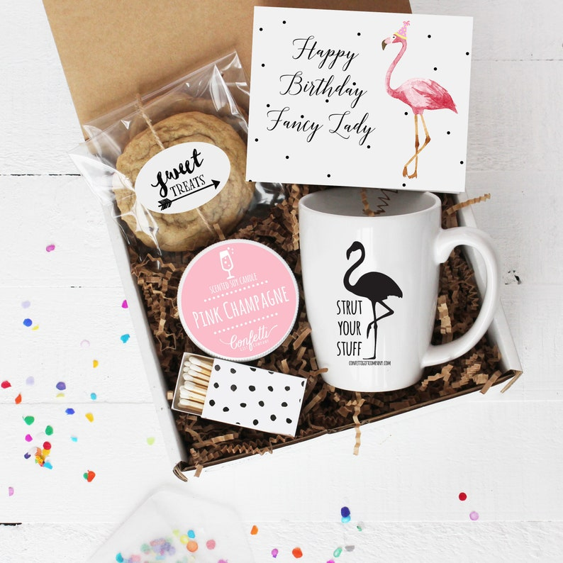 Happy Birthday Fancy Lady Gift Box Send A