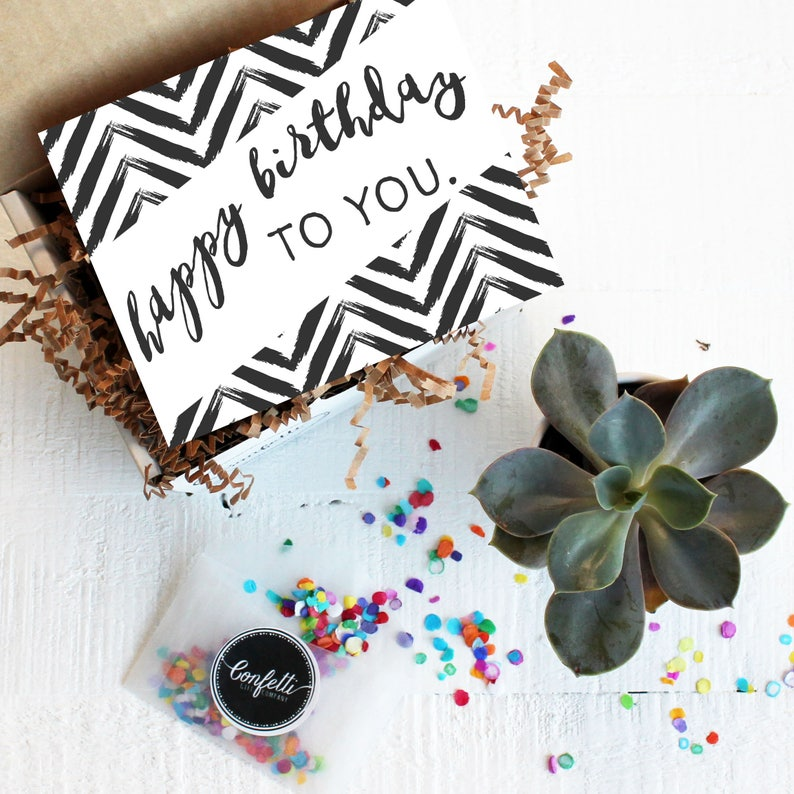 Mini Happy Birthday To You Gift Box Send A