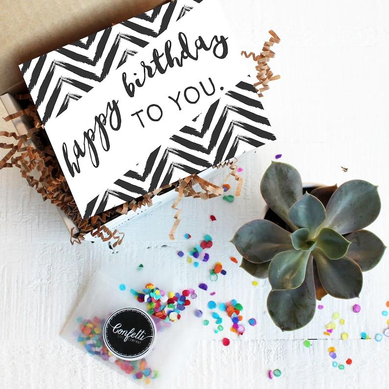 Mini Happy Birthday To You Gift Box
