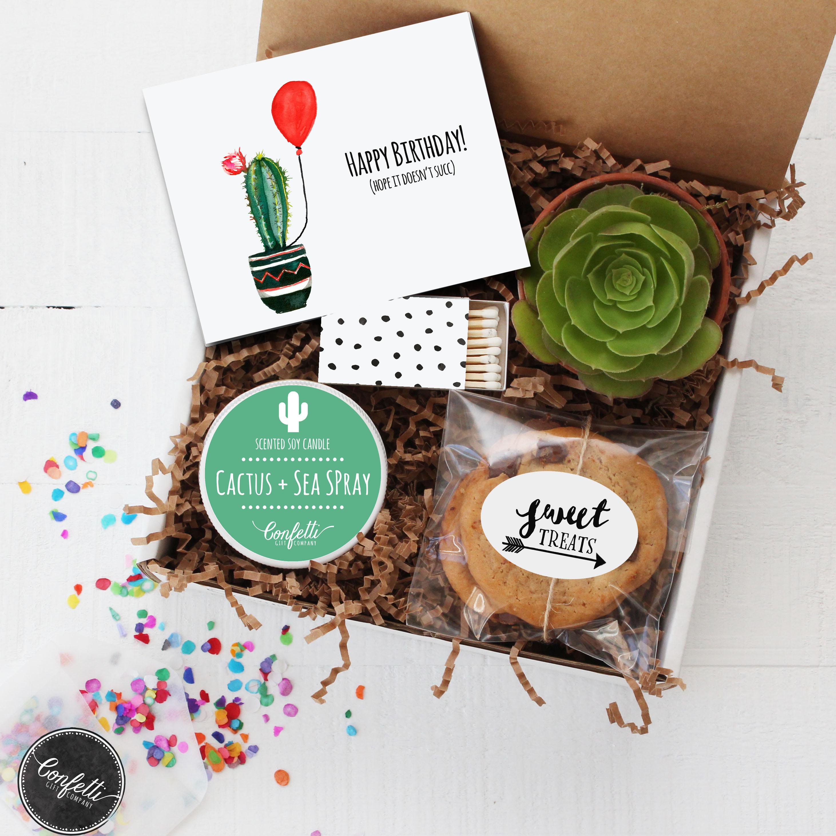 Hope It Doesnt Succ Birthday Gift Box