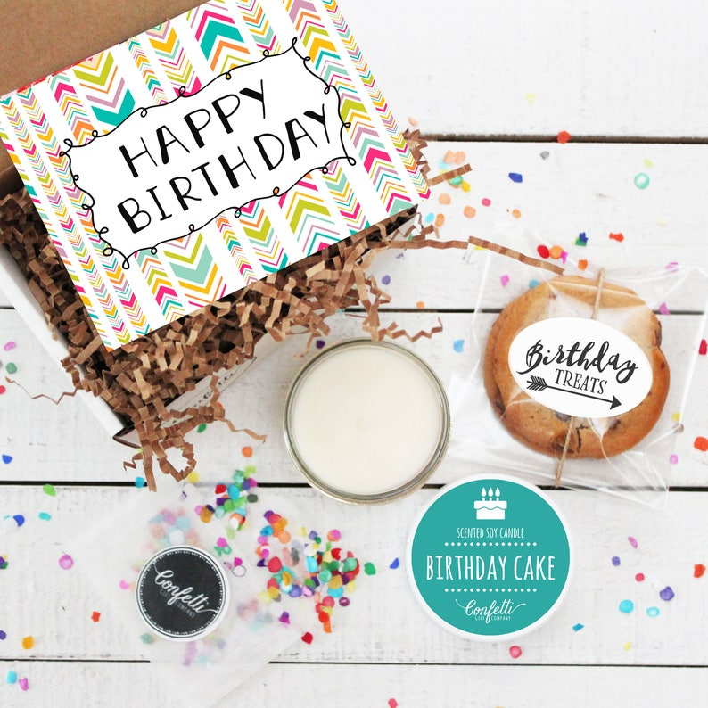 Mini Happy Birthday Gift Box Send A
