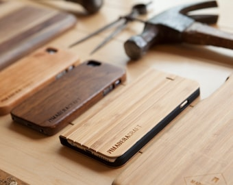 iPhone 6 Case | Bamboo Wood Cover | Cherry Wood Cover | Unique iPhone 6 Case | Case For Men – Women | Gift For Men - Women