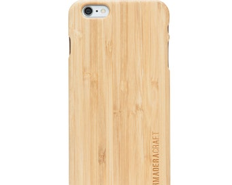 iPhone 6 Case | Bamboo Wood Case | iPhone 6 Wood Case | Unique Wooden Cover | Case For Men – Women | Gift For Men - Women