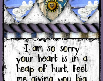I am sorry card etsy i am so sorry your heart hurts greeting card 49 m4hsunfo