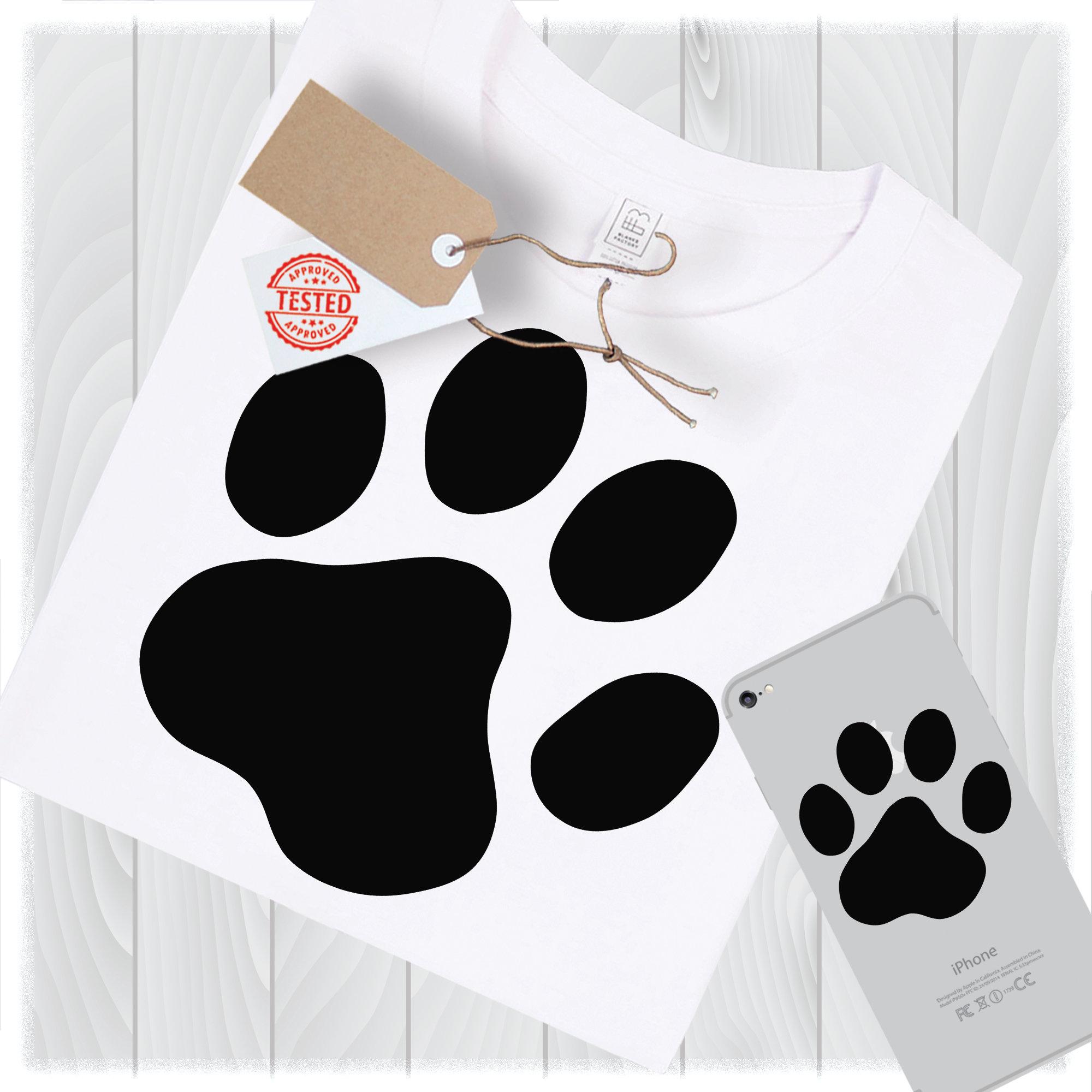 Download Dog Paw Print Svg Files for Cricut Designs Dog Svg Dog Paw ...