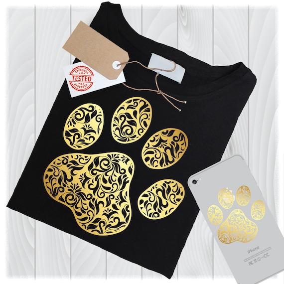 Gold Paw Mandala Svg Files For Cricut Designs Dog Svg Dog Etsy