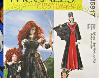 McCalls SEWING PATTERN M6817 Misses Or Kids  Costumes