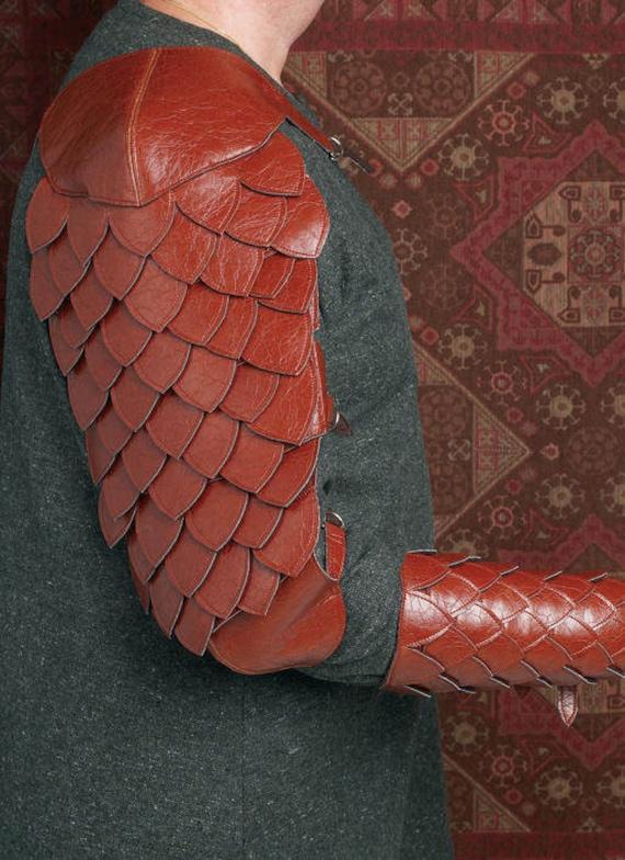 Schnittmuster Butterick 5580 Skyrim Dragon Scale Armor   Etsy