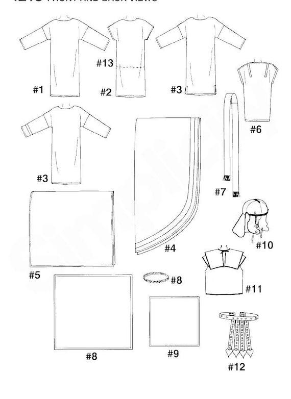 Einfachheit 4213 Nähen Muster römischen Ostern Passion Play | Etsy