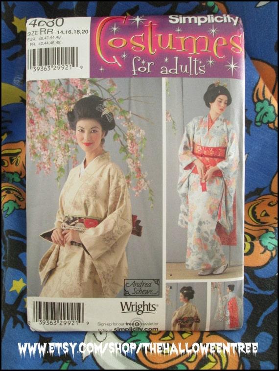 Einfachheit 4080 Mori Kawaii mit Obi Gürtel Schnittmuster | Etsy