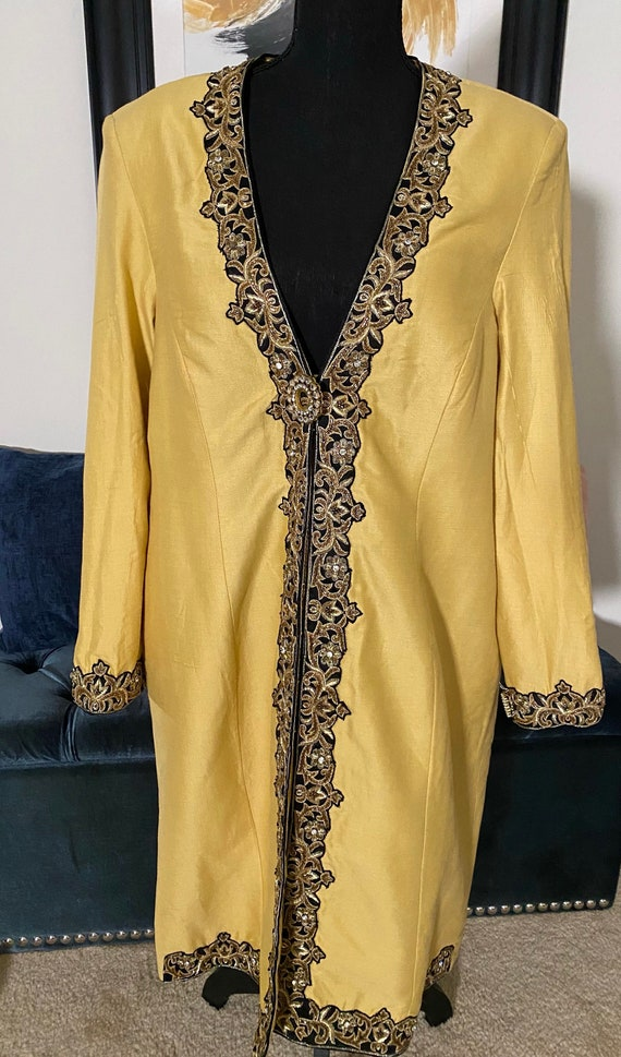Vintage 70s Asian Duster