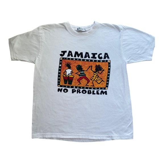 M-XL Vintage Souvenir Jamaica Tee