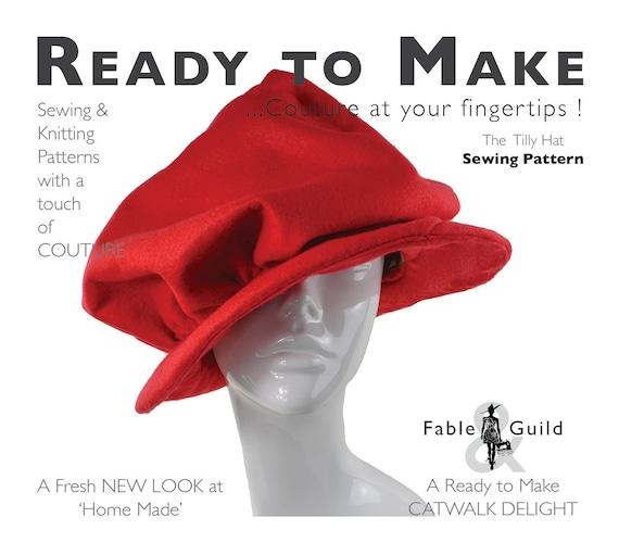 PDF-Schnittmuster Damen elegante Vintage-Stil Edwardian Cap | Etsy