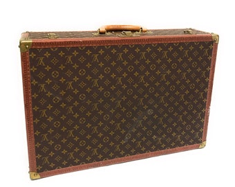 34a4bbbf09da Vintage Louis Vuitton Monogram Canvas Steamer Trunk