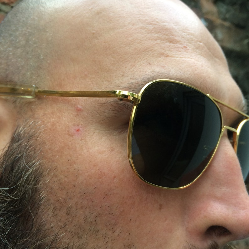 91789e5523e1 ... Vintage Aviator Sunglasses Randolph Engineering Aviators U.S image 2 ...