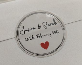 Round Stickers | Weddings, Engagements, Baptism