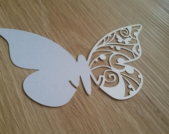 12 x Butterfly Place Cards