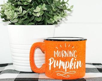 Morning Pumpkin || Mama's Coffee Mug || Campfire Mug || Fall Coffee Cup || Comfy And Cozy || Cute Custom Coffee Mug || Coffee Lover Gift