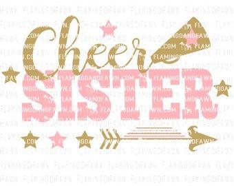 Cheer sister | Etsy