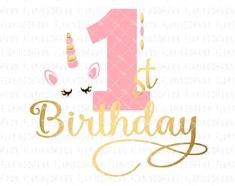 1st birthday unicorn   Etsy