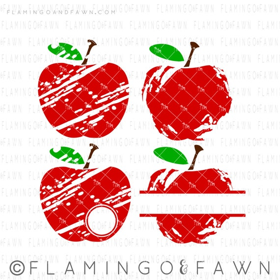 Distressed Apple Svg Svg Distressed Svg Apple Top Svg Apple Etsy