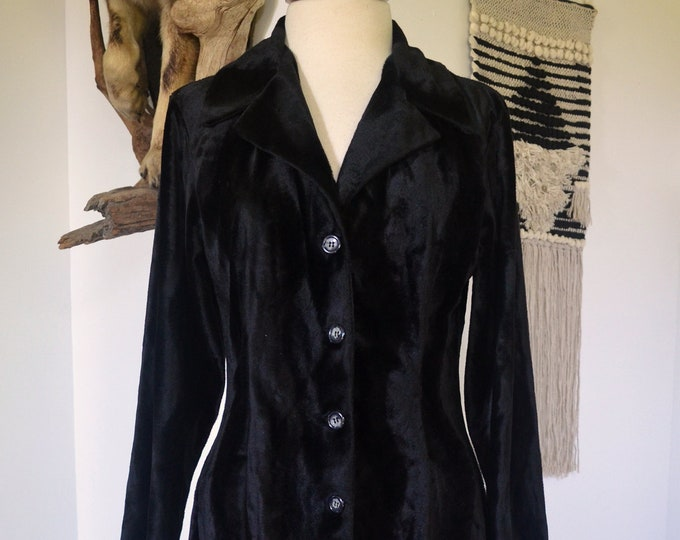 Faux Fur Vintage Full Length Sense Coat