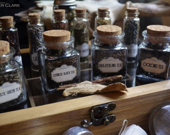Fully Stocked Herbal Tea Apothecary Kit