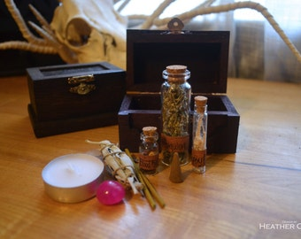 Miniature Fully Stocked Apothecary Kits
