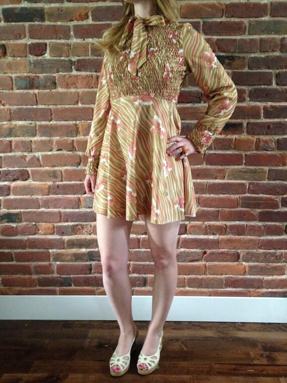 Vintage mini-dress