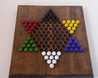 Inventory Reduction Sale Chinese Checkers Board With Marbles