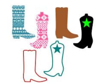 western boots etsy