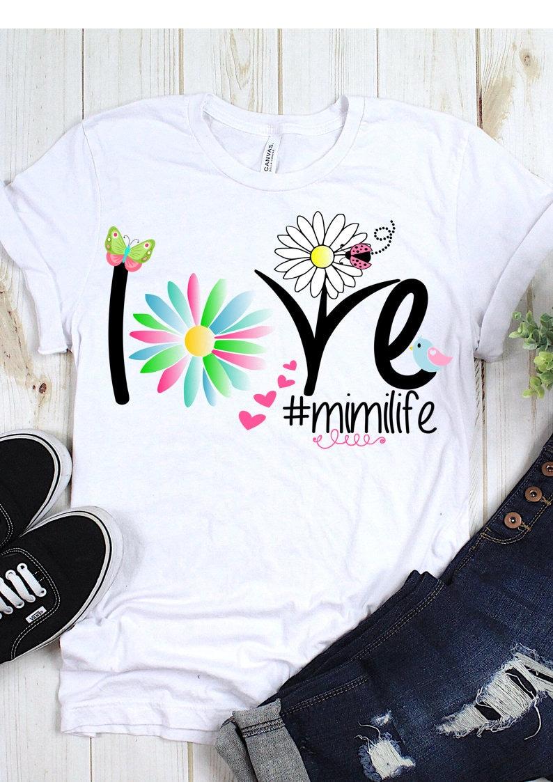 Mimilife Sublimation Design, Mimi PNG File, Mimi T Shirt Design, Spring  Mimi Design, Sublimation Design, PNG, JPEG