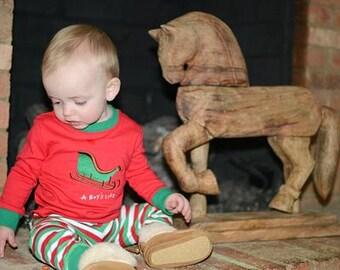 A Boy's Life, Children's Christmas PJs, boy pajamas