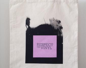 Respect the Vinyl Tote Bag