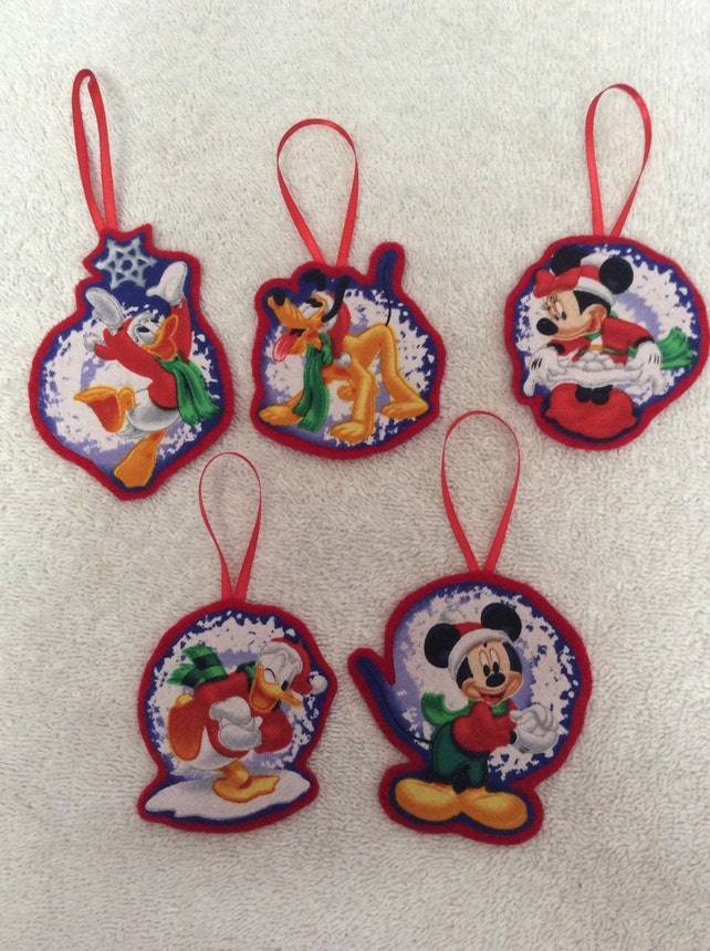 image 0 - Mickey And Minnie Christmas Decorations