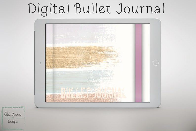 Digital Bullet Journal for Android iPad Goodnotes MataMoji image 0