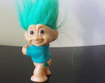 Green Hair Troll Etsy