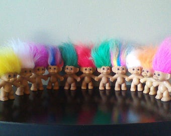 Rich and Famous Vintage Russ Troll Dolls, BEST