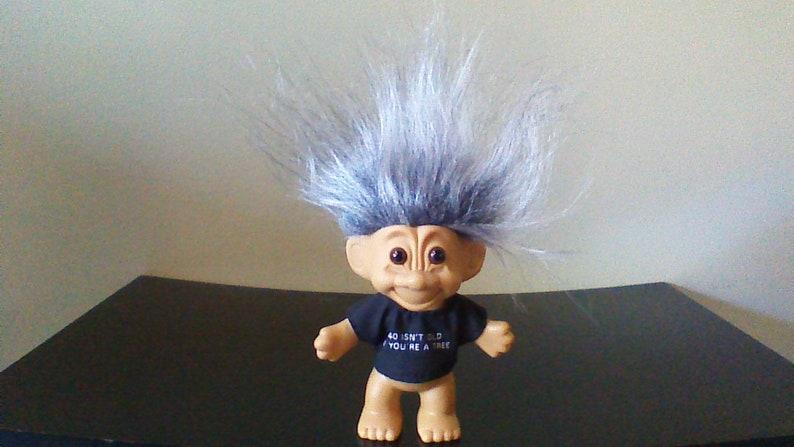 "NEW IN ORIGINAL WRAPPER 5/"" Russ Troll Doll I LOVE GRANDPA"
