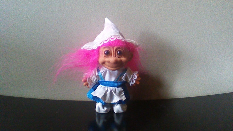 "NEW IN ORIGINAL WRAPPER KING 5/"" Russ Troll Doll"
