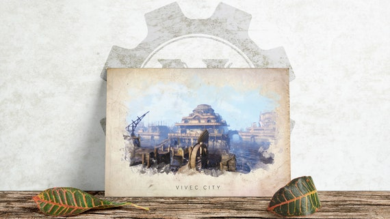 Picture Poster Skyrim Witcher 3 Elder Scrolls Art D/&D Framed Print Dragon Eye