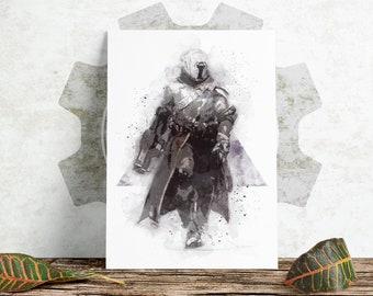Sketch Print - Destiny - Warlock