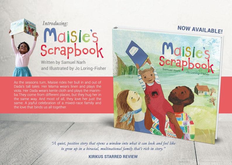 Clean Book Promotion Flyer, Custom Book Flyer, Book Event Flyer, Childrens'  Book Flyer, Book Announcement Flyer