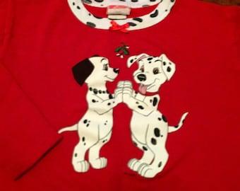 b98564bf816 90s 101 Dalmatians vintage long sleeve shirt sweater chrisymas top cute  kids children disney walt vhs video movie film classic mom lion king