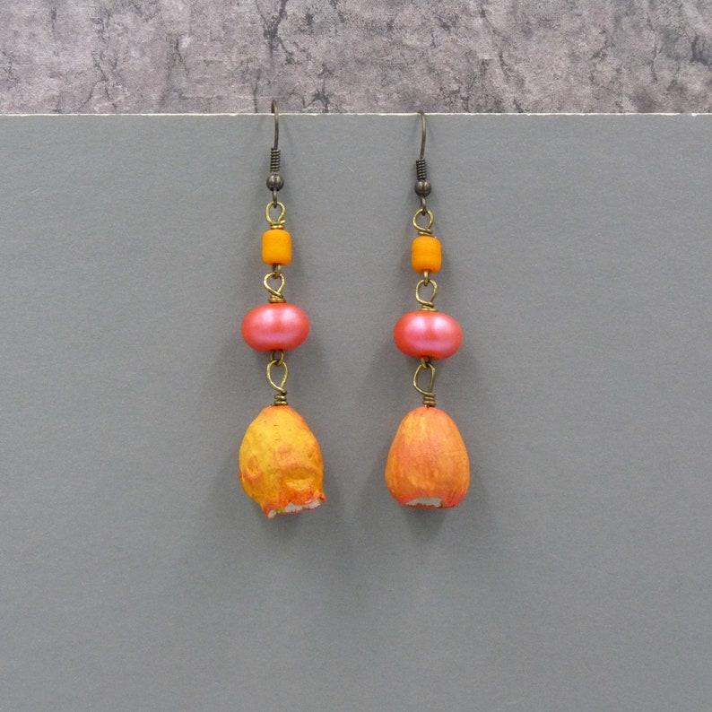 Bohemian Earrings Gypsy Earrings Boho Earrings Colorful image 0