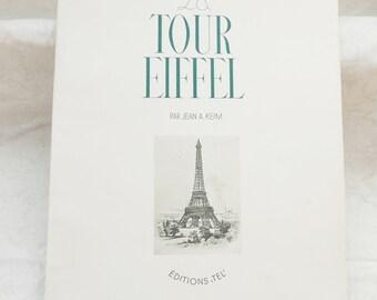 Vintage Eiffel Tower Souvenir Book No 2   Souvenir de la Tour Eiffel  1950 Vintage Ephemera