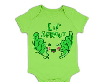 Lil Sprout baby grow