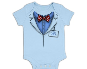 Professor Costume baby grow